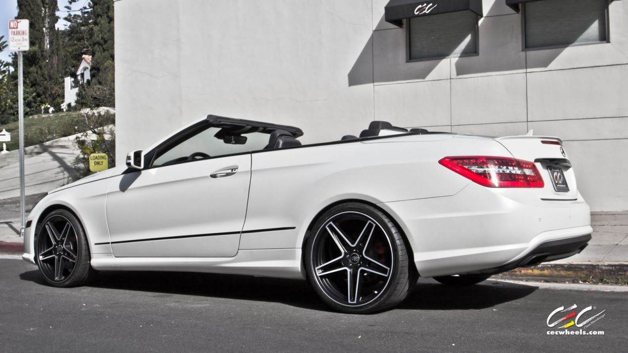2015 CEC wheels tuning cars Mercedes Benz e550 convertible wallpaper