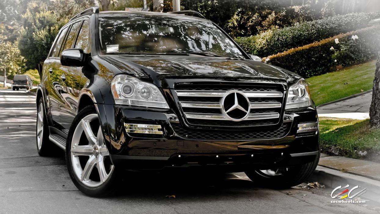 2015 CEC wheels tuning cars Mercedes Benz gl-class wallpaper