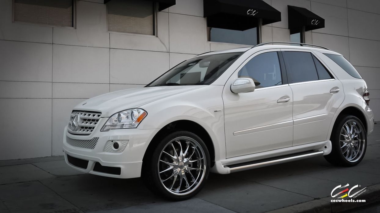 2015 CEC wheels tuning cars Mercedes Benz ml-class wallpaper