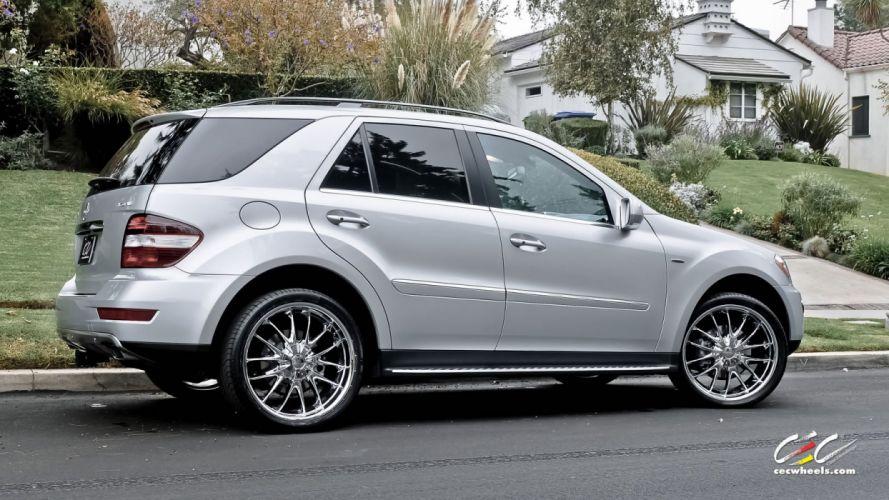 2015 CEC wheels tuning cars Mercedes Benz ml-class wallpaper