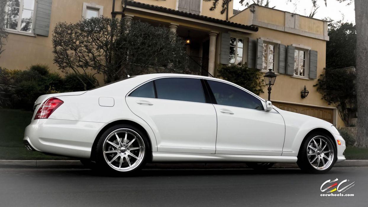 2015 CEC wheels tuning cars Mercedes Benz s-class wallpaper