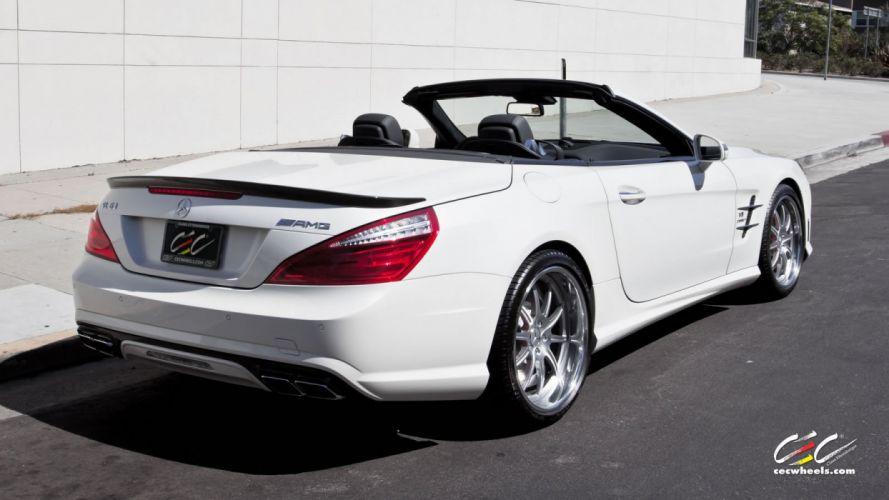 2015 CEC wheels tuning cars Mercedes Benz sl63 amg wallpaper