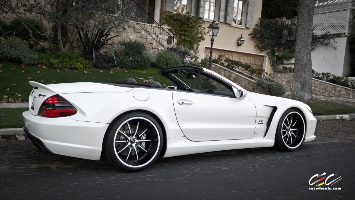 2015 CEC wheels tuning cars Mercedes Benz sl65 amg wallpaper