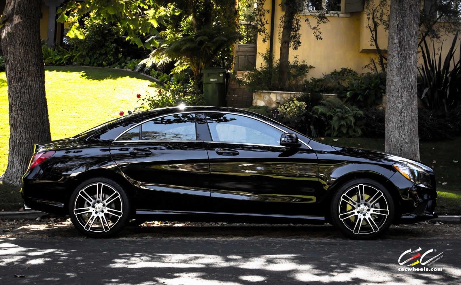 2015 cec wheels tuning cars mercedes benz cla 250. Black Bedroom Furniture Sets. Home Design Ideas