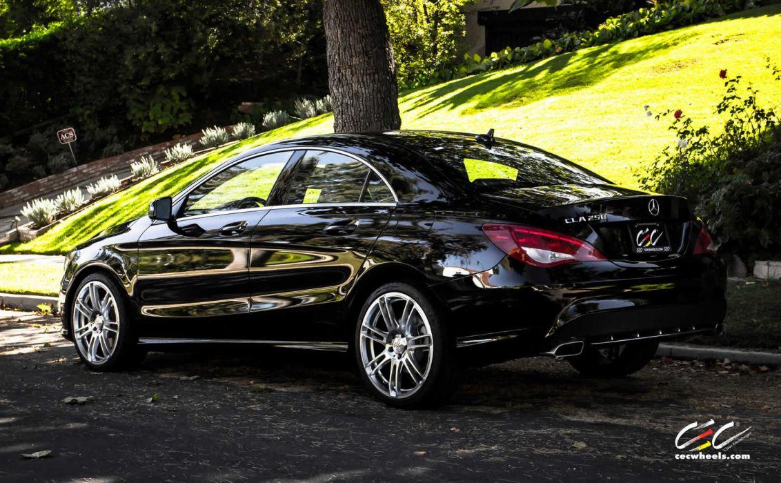 2015 CEC wheels tuning cars Mercedes Benz cla-250 wallpaper