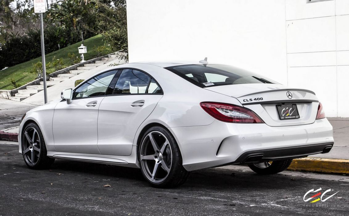 2015 CEC wheels tuning cars Mercedes Benz cls 400 wallpaper
