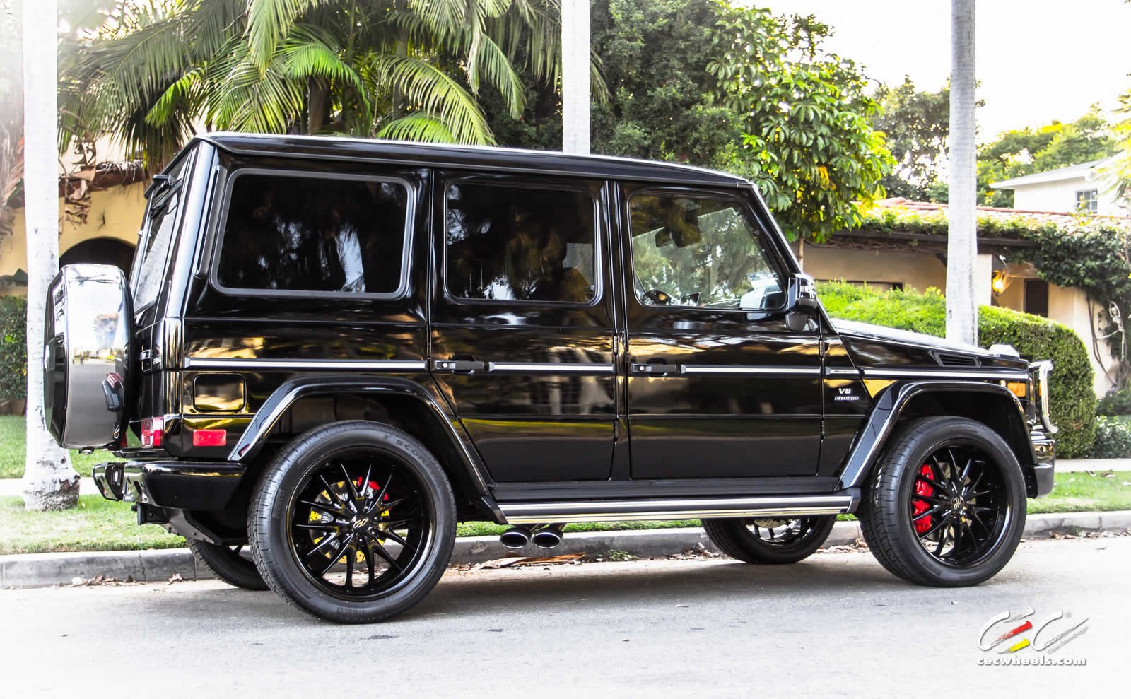 2015 CEC wheels tuning cars Mercedes Benz g63 amg ...