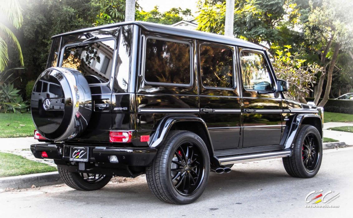 2015 CEC wheels tuning cars Mercedes Benz g63 amg wallpaper
