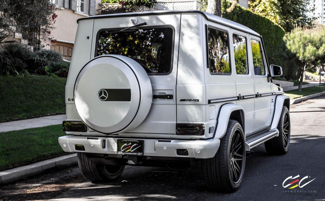 2015 CEC wheels tuning cars Mercedes Benz g63 amg wallpaper