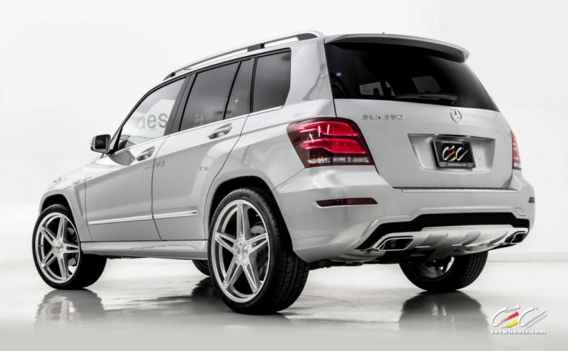 2015 CEC wheels tuning cars Mercedes Benz glk 350 wallpaper