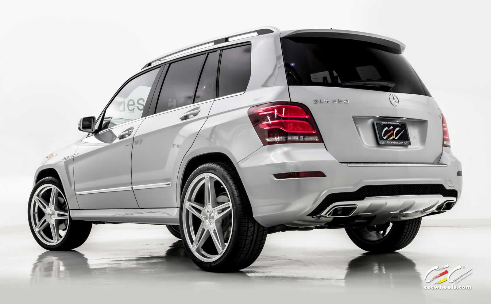 2015 cec wheels tuning cars mercedes benz glk 350. Black Bedroom Furniture Sets. Home Design Ideas