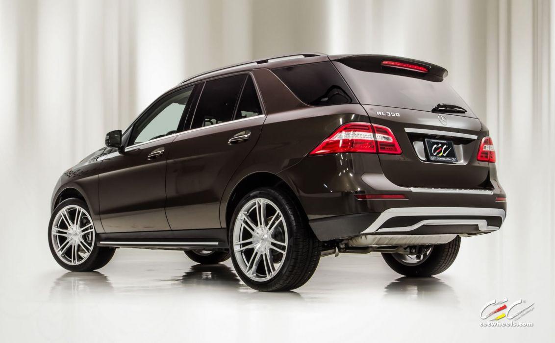 2015 CEC wheels tuning cars Mercedes Benz ml 350 wallpaper