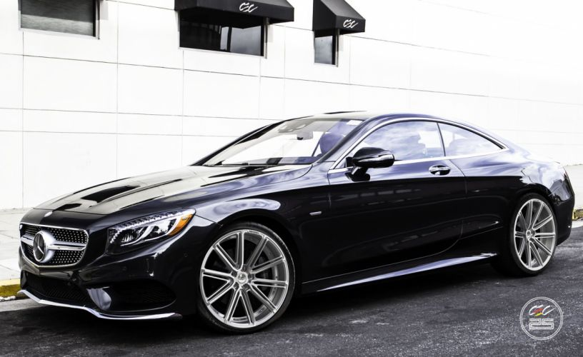 2015 CEC wheels tuning cars Mercedes Benz s550 coupe wallpaper