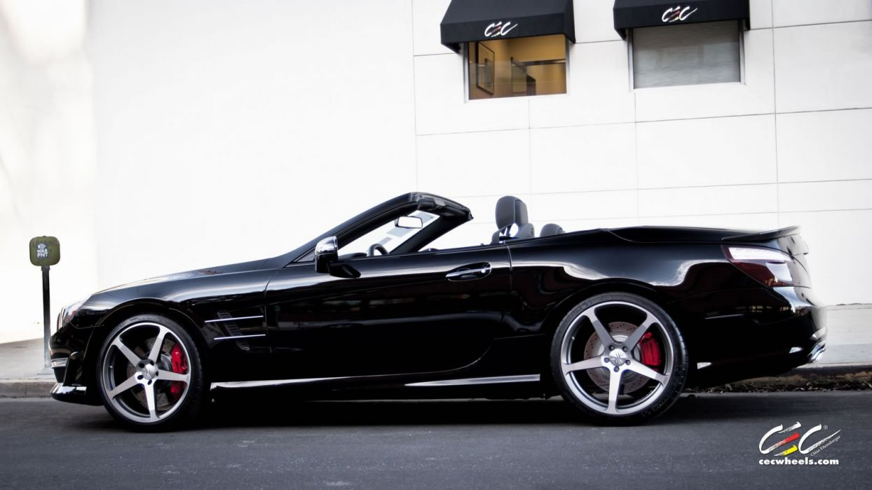 2015 CEC wheels tuning cars Mercedes Benz sl63 amg wallpaper