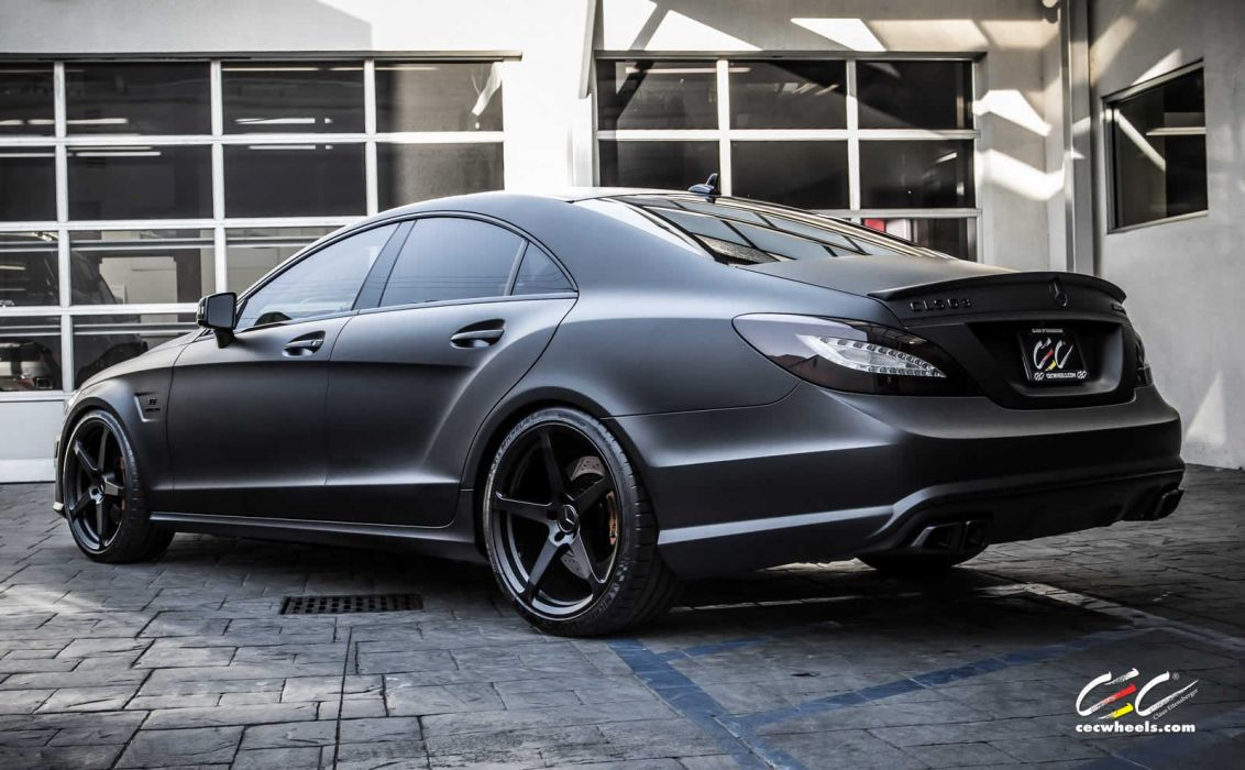 2015 CEC wheels tuning cars Mercedes Benz cls63 amg wallpaper