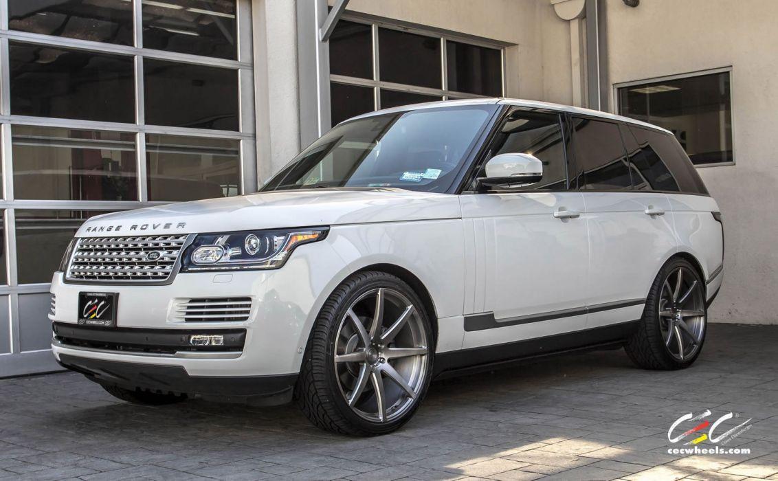 2015 CEC wheels tuning cars suv range Rover lr4 wallpaper