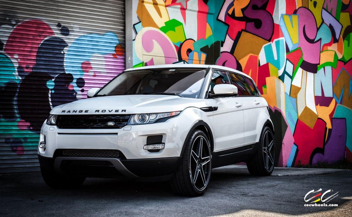 2015 CEC wheels tuning cars suv range Rover evoque wallpaper