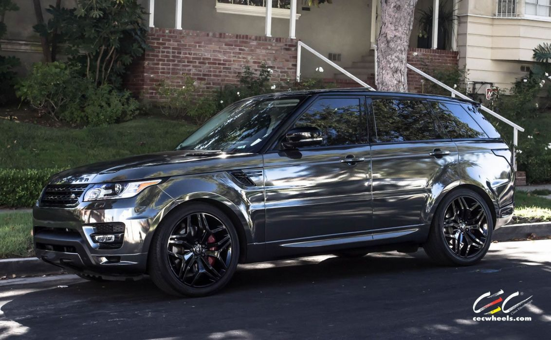 Cars That Start With D >> 2015 CEC wheels tuning cars suv range Rover sport chrome vinyl wrap wallpaper | 1600x989 ...
