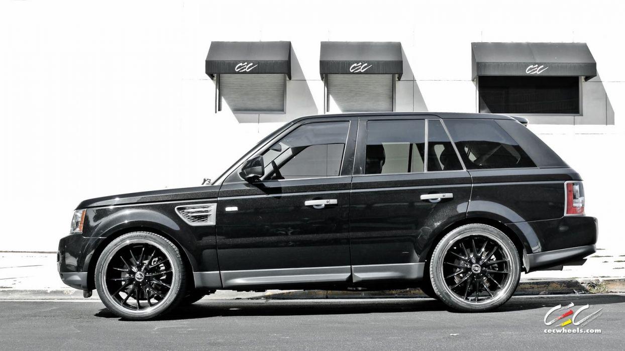 2015 CEC wheels tuning cars suv range Rover sport wallpaper