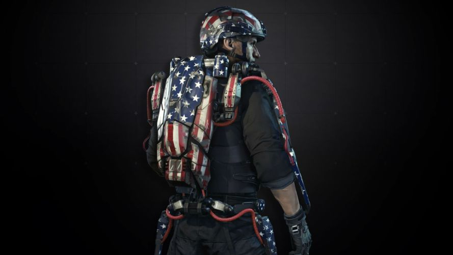 CALL Of DUTY Advanced Warfare tactical shooter stealth action military fighting cod sci-fi warrior wallpaper
