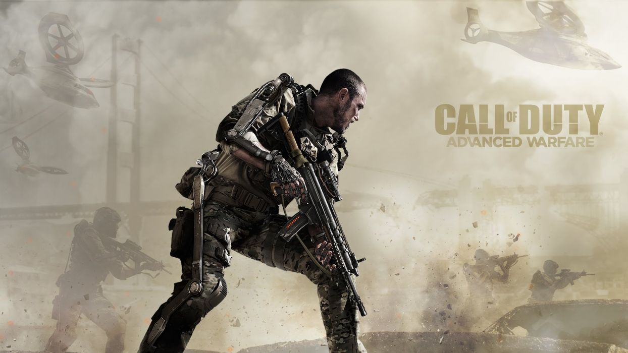 CALL Of DUTY Advanced Warfare tactical shooter stealth action military fighting cod sci-fi warrior weapon gun poster wallpaper