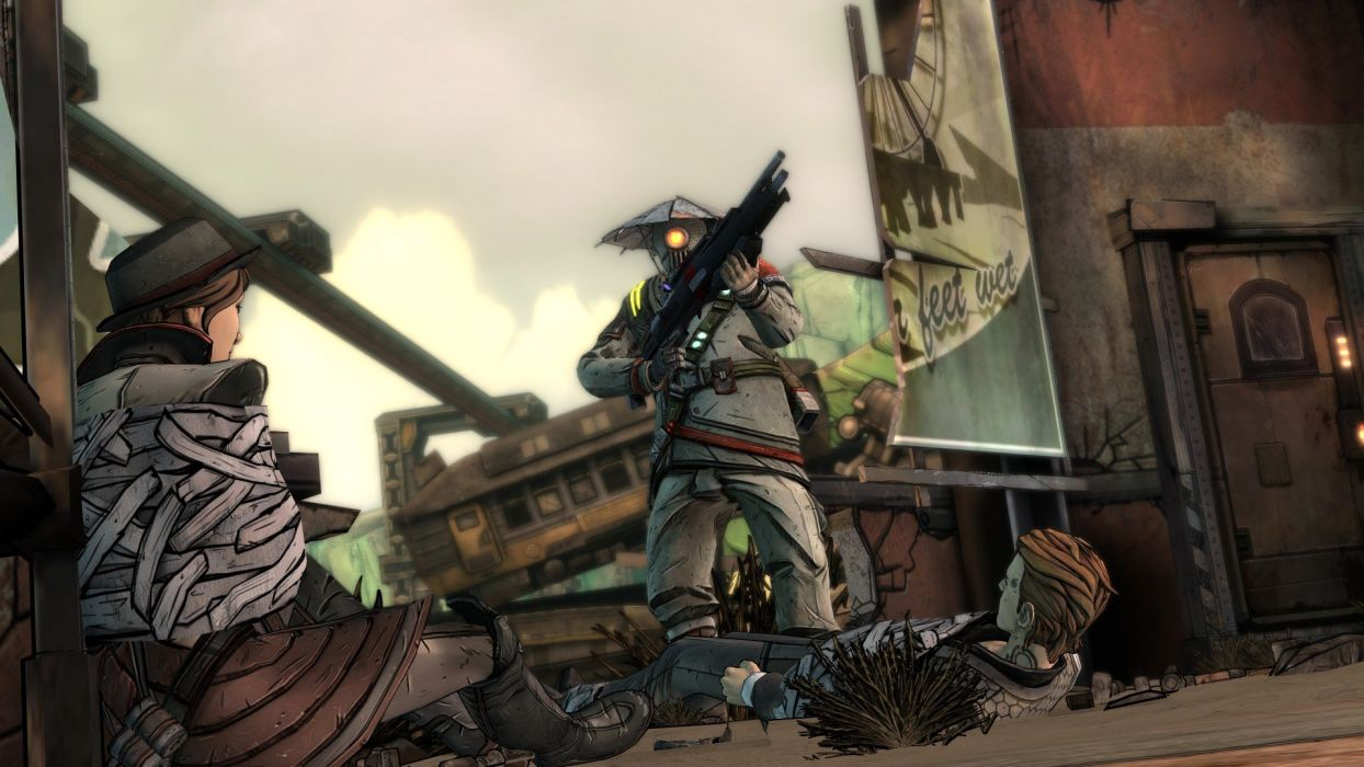 TALES-FROM-THE-BORDERLANDS adventure action fighting shooter tales borderlands wallpaper
