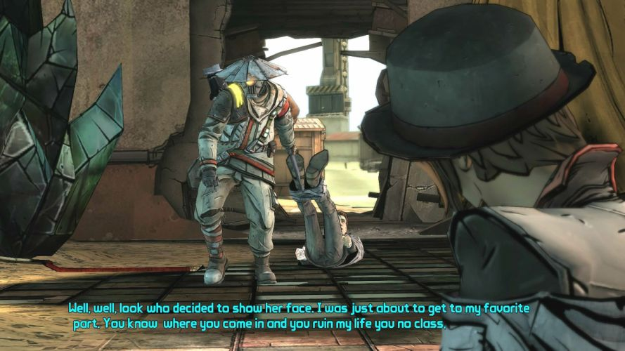 TALES-FROM-THE-BORDERLANDS adventure action fighting shooter tales borderlands poster wallpaper