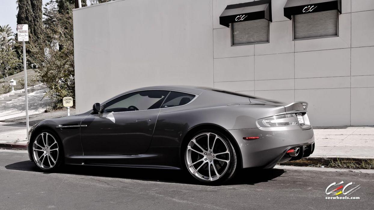 2015 cars CEC Tuning wheels Aston Martin dbs wallpaper