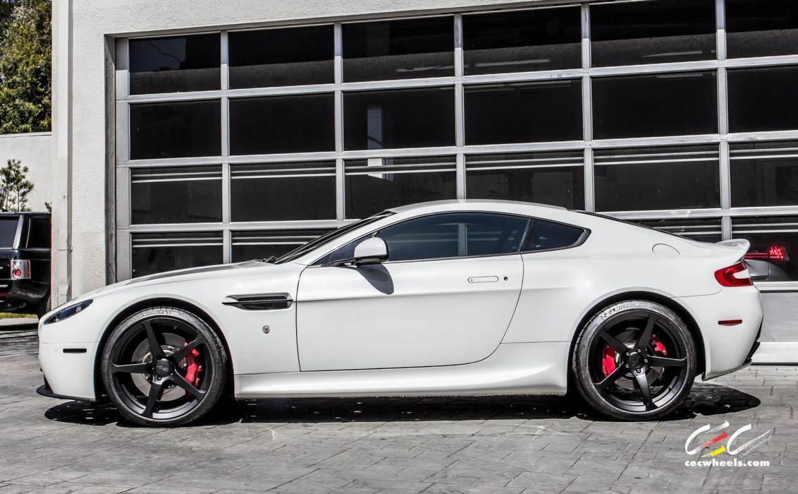 2015 cars CEC Tuning wheels Aston Martin vantage wallpaper
