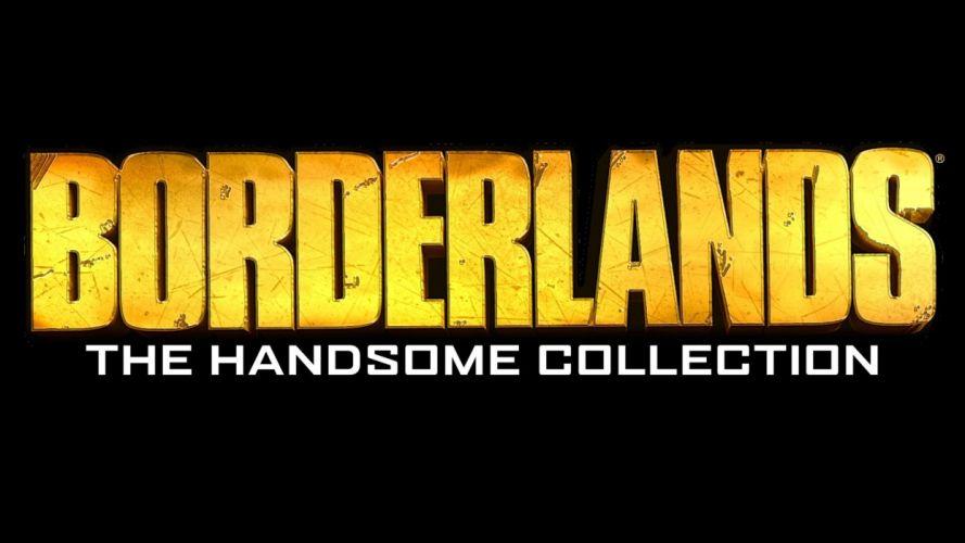 BORDERLANDS HANDSOME fighting action adventure shooter poster wallpaper