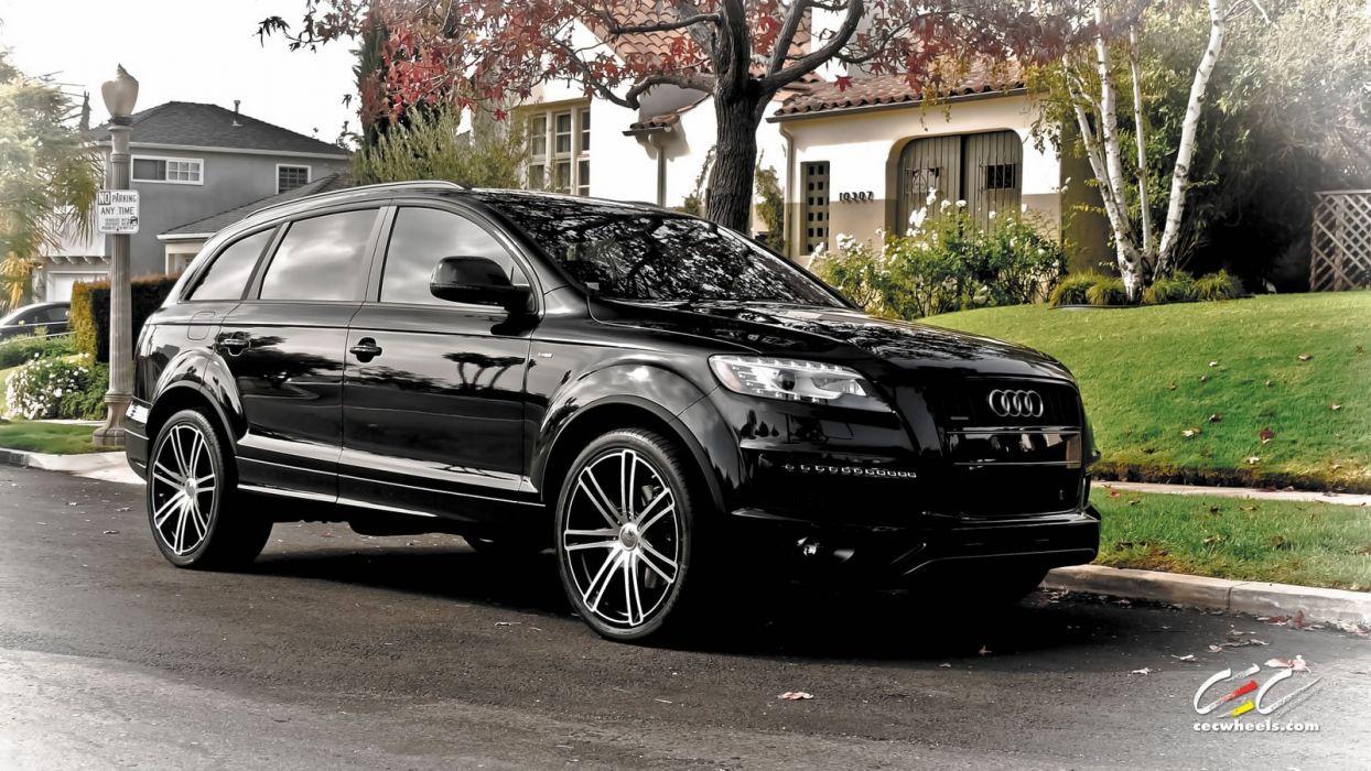 2015 cars CEC Tuning wheels audi q 7 suv wallpaper