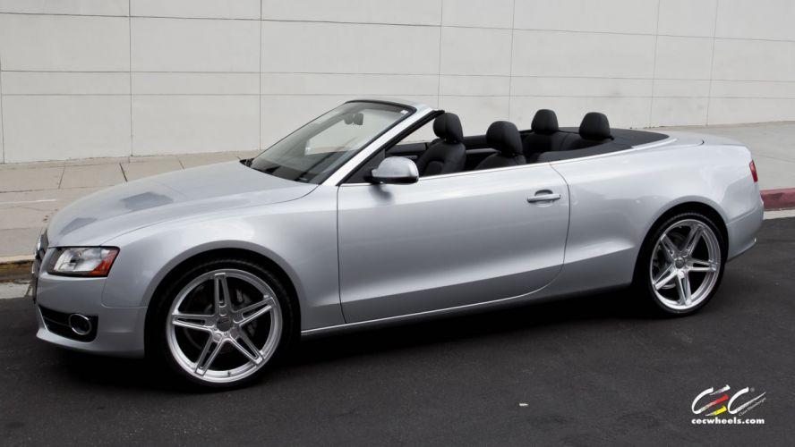 2015 cars CEC Tuning wheels audi A5 Convertible wallpaper