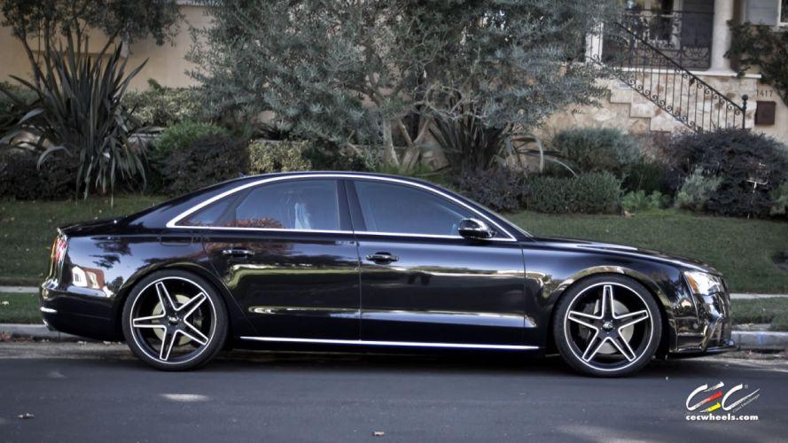 2015 cars CEC Tuning wheels audi A8 wallpaper