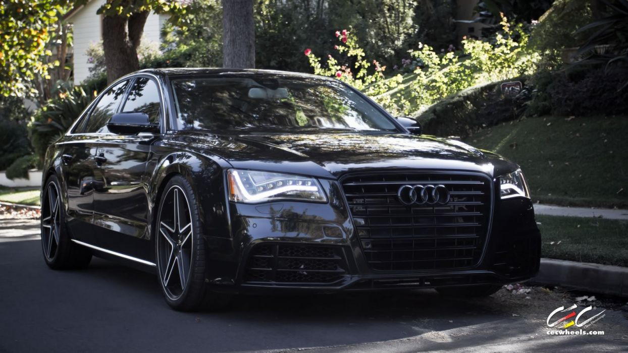 2015 cars CEC Tuning wheels audi A8 wallpaper
