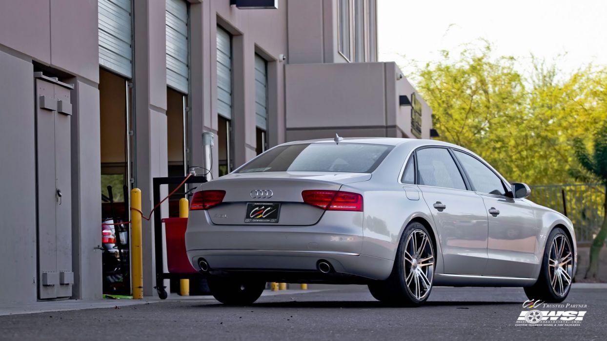 2015 cars CEC Tuning wheels audi A8L wallpaper