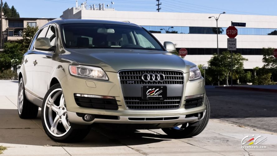 2015 cars CEC Tuning wheels audi Q 7 suv wallpaper