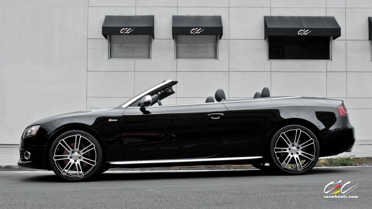 2015 cars CEC Tuning wheels audi S5 Convertible wallpaper