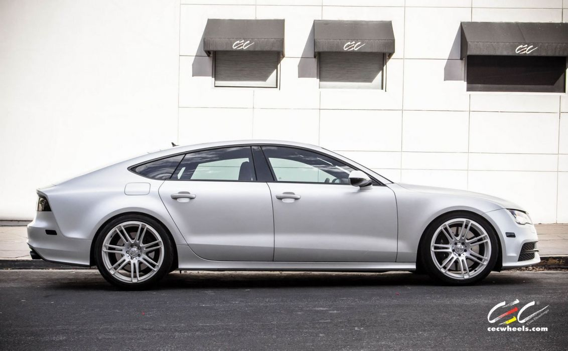 2015 cars CEC Tuning wheels audi S7 wallpaper