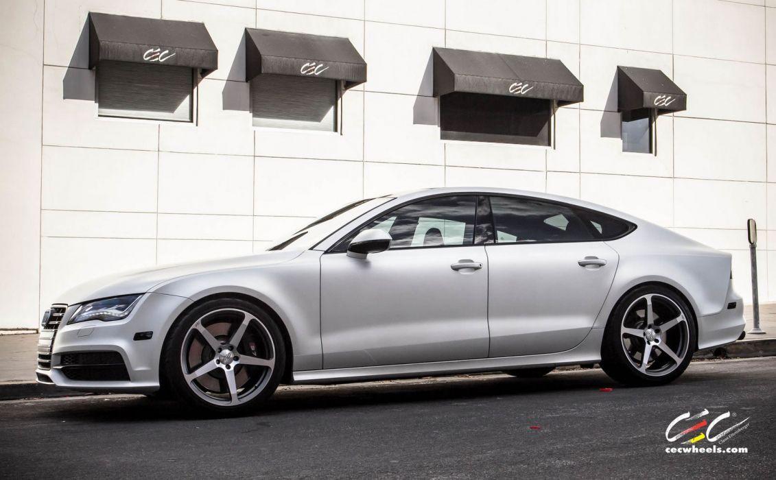 2015 cars CEC Tuning wheels audi S7 wallpaper