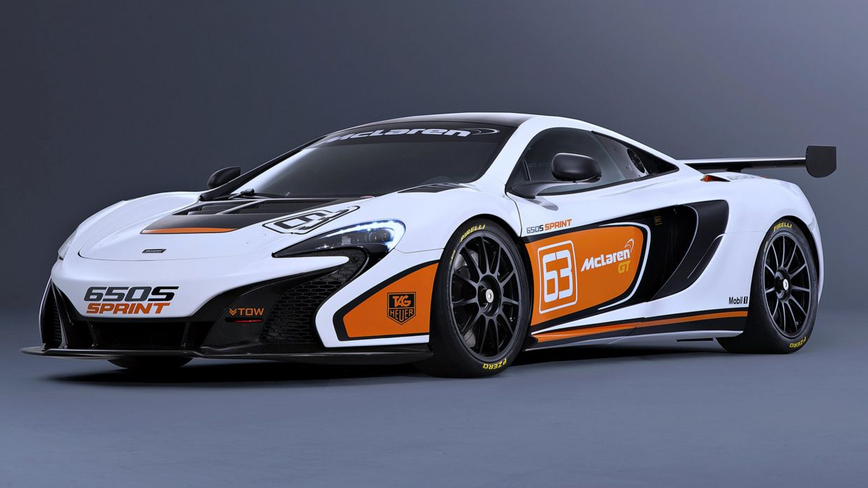 McLaren 650S Sprint race speed motors cars 2014 wallpaper