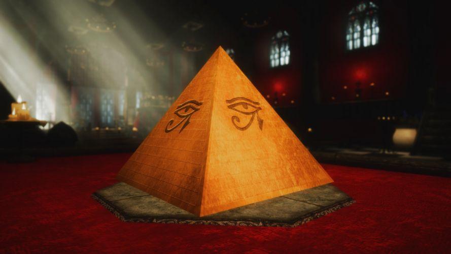 Skyrim Illuminati wallpaper