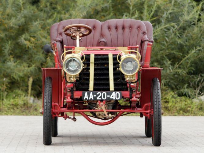 1903 Darracq 12HP Rear-Entrance Tonneau retro vintage wallpaper