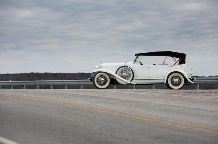 1932 Stutz DV32 Tonneau Cowl Speedster LeBaron luxury retro vintage wallpaper