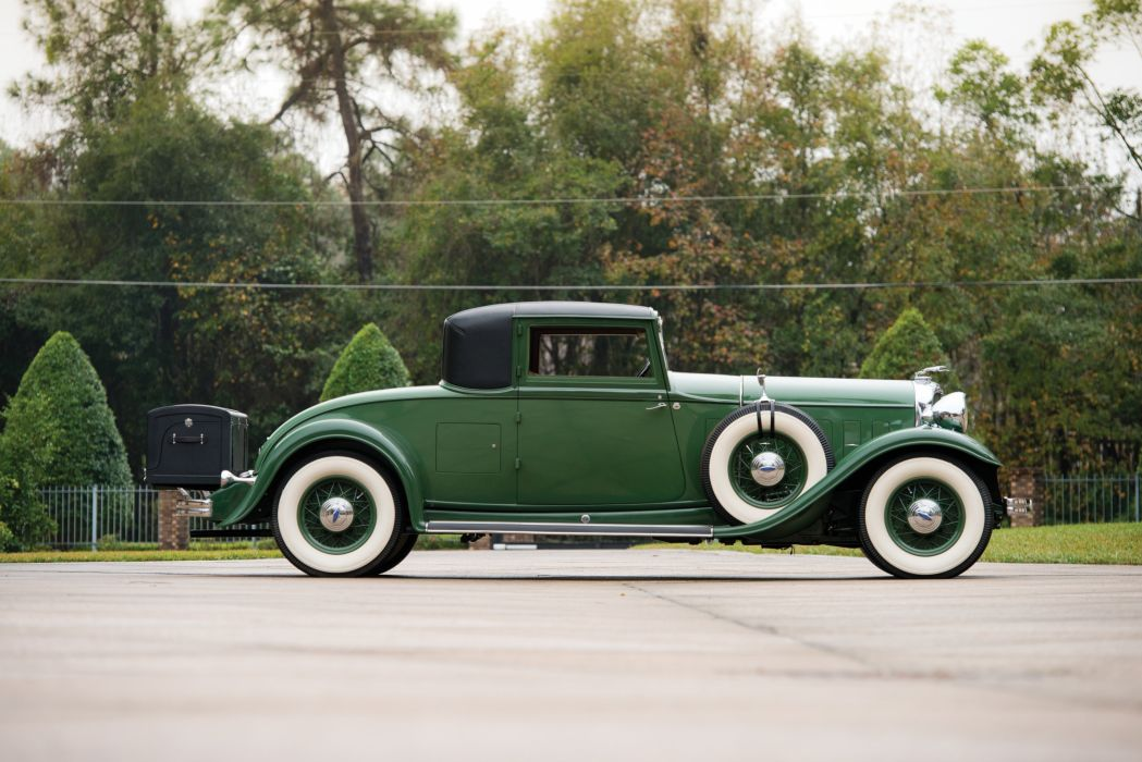 1932 Lincoln Model-KB Coupe Judkins 244-B luxury retro vintage wallpaper