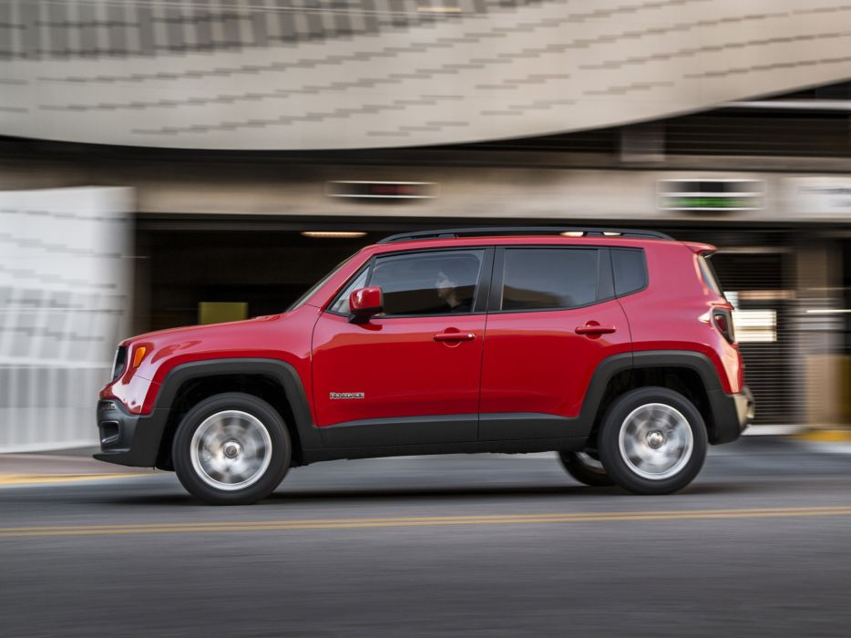 2015 Jeep Renegade Latitude suv 4x4 wallpaper