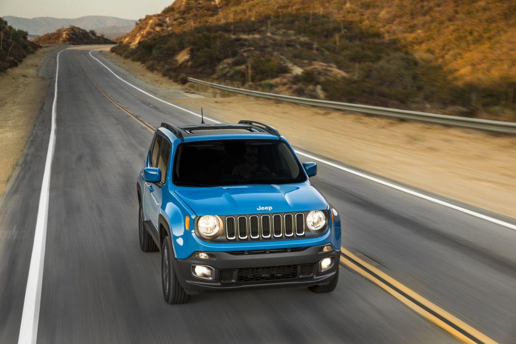 2015 Jeep Renegade Latitude suv 4x4 wallpaper