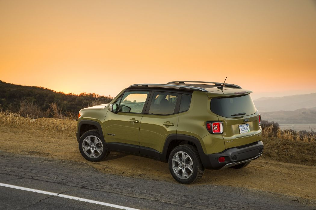 2015 Jeep Renegade Limited suv 4x4 wallpaper