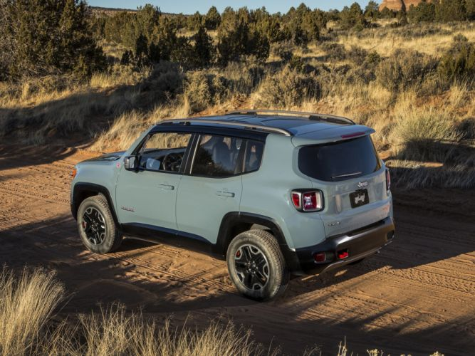 2015 Jeep Renegade Trailhawk suv 4x4 wallpaper