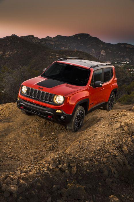 2015 Jeep Renegade Trailhawk suv 4x4 wallpaper