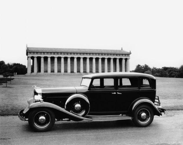 1932 Packard Light Eight Sedan 900-553 retro luxury wallpaper